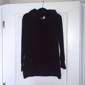 Dark Purple Sweater.